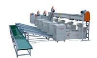食用菌自動化裝袋扎口生產流水線(xian)SZL-2型(xing)